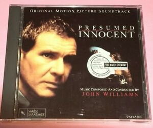 OST: PRESUMED INNOCENT [MUSIC COMPOSED BY JOHN WILLIAMS] (1990/U.S.A.)   CD