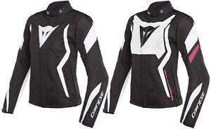 Dainese Edge Lady Women's Motorcycle Jacket Waisted Athletic Easy Textile Jacket