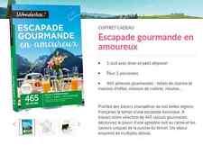 E-Billet Wonderbox ''Escapade gourmande en amoureux'' 69€ au lieu 89€