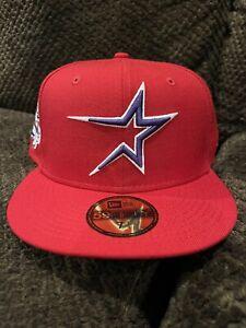 Houston Astros 45th Anniversary Red Purple UV New Era 7 1/4 Brand New