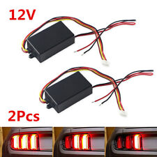 2X 3-Step Sequential Dynamic Chase Flash Module Boxes For Car Turn Signal Light