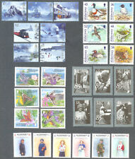 Alderney - year set 2011 -mnh-5 sets + 2 min sheets