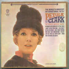 Petula Clark - The Worlds Greatest Singer - 4 Track 3 3/4 IPS REEL TO REEL TAPE