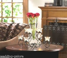 Large Candelabra Black Candleholder Wedding Centerpiece - New