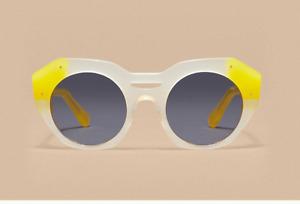 """REVEL PARIS """"Light Peach"""" womens sunglasses HANDMADE (was 380€)"""