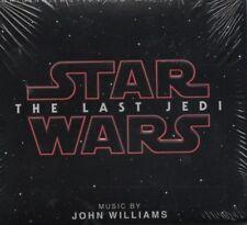 STAR WARS - THE LAST JEDI - ORIGINAL SOUNDTRACK     *NEW & SEALED CD ALBUM*