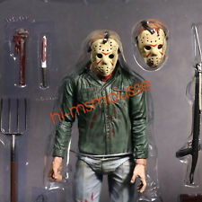 """Friday the 13th Part III JASON VOORHEES 7"""" Action Figure 1:12 NECA No Package"""
