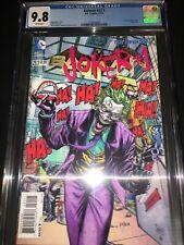 Batman #23.1 CGC 9.8 - Jason Fabok Joker 3-D Lenticular Variant Cover - 2013