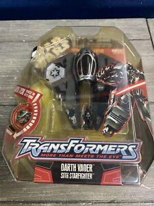 MoSC Hasbro Star Wars Transformers DARTH VADER / SITH STARFIGHTER