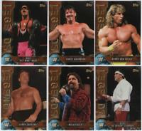 2017 Topps Legends of WWE Wrestling - Bronze Parallels - Choose Card #'s 1-100