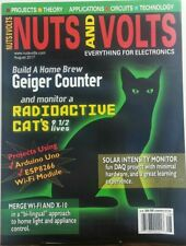 Nuts And Volts August 2017 Build A Home Brew Geiger Counter FREE SHIPPING sb
