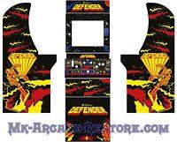Arcade1Up Defender Side Art Arcade Cabinet Artwork Graphics Decals