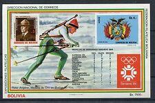 Bolivien Block 141 postfrisch / Olympiade ................................1/2954
