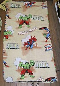 MARVEL SUPER HERO'S SLEEPING BAG HULK, SPIDER-MAN CAPTAIN AMERICA