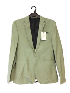 """ASOS Super Skinny Suit Jacket in Light Green Size 36"""" rrp £55 DH012 RR 14"""