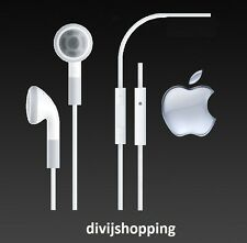Original Apple iPhone Headphones Earphones REMOTE & MIC iPhone 4 4s 5 5c 5s 6 6+