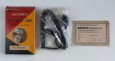 Accura 5' Coilomatic Cord for Kodak Strobe Flash Household Plug Sync Cord Cable