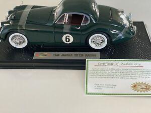 1949 Jaguar XK 120 Racing British GR Hard Top Signature Models 1:18 18107 Mint