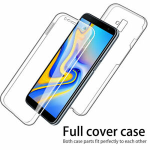 For iPHONE 11 MAX PRO X MAX XR Case 360 Full Protection Soft Front and Back TPU
