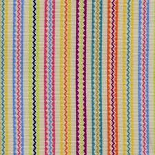Andrew Martin Rainbow Epingle Stripe Upholstery Fabric- Talitha Cocktail 3.80 yd