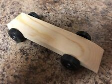 "Fast Pinewood Derby Car ""Ready to Race"""