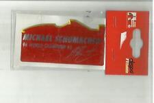 ADESIVO VINTAGE STICKER michael schumacher collection in materiale plastico mod2