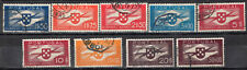 PORTUGAL 1946/41 AIR MAIL STAMP Sc. # C 1/4 AND C 6/10 USED
