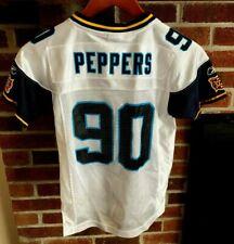 JULIUS PEPPERS #90 Carolina Panthers Super Bowl XXXVIII JERSEY YOUTH S 8 Reebok