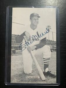Stan Musial autographed photo