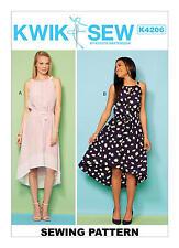 Kwik Sew K4206 PATTERN - Misses Dresses - Brand New - Sizes XS-XL