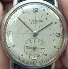 WITTNAUER WATCH Co Inc GENEVE  ( LONGINES ) SWISS MADE RARO POLSO A MONETA 1940
