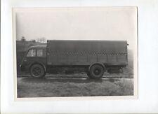 N°4843   /  RENAULT camion baché 8 tonnes moteur à huile lourde 1938 : photo
