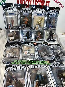 Star Wars Hasbro Original Trilogy Collection OTC 2004 Lot of 15 ANH 3.75 Scale