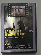 REPORTAGES DE GUERRE 1939 -1945 .. N°4 .. LA BATAILLE D'ANGLETERRE ..FRANK CAPRA