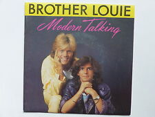45 tours MODERN TALKING Brother louie 248769