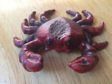 Cast Iron Crab Paper Weight & Bottle Opener Beach Home Decor