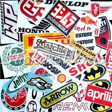 30+ FAHRRAD, MOTORRAD MotoGP usw Restposten & Zweite Qualität Aufkleber Stickers