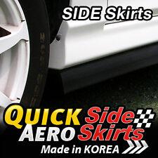 8 Feet x2 Side Skirts Spoiler Chin Lip Splitter Valence Trim Kit for All Vehicle