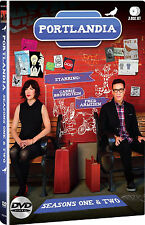 Portlandia . The Complete Season 1 + 2 . One & Two . 3 DVD . NEU . OVP