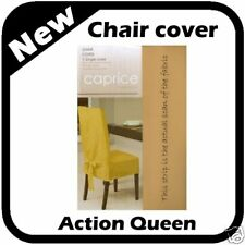 Kitchen Dining CHAIR COVER CANVAS GOLD / MUSTARD STUNNING NEW