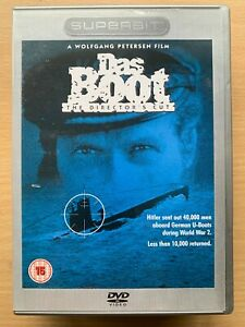Das Boot Superbit DVD 1981 German World War II U-Boat Drama Director's Cut