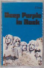 DEEP PURPLE: In Rock SEALED Fame Harvent CZECH IMPORT Cassette Tape