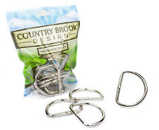 10 - Country Brook Design® 2 Inch Heavy Welded D-Rings