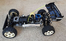 Voiture RC KYOSHO TURBO BURNS moteur REX TT 1/8 4x4 - TBE