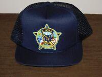 POLICE BASEBALL CAP HAT ALASKA STATE TROOPERS   NEW UNUSED