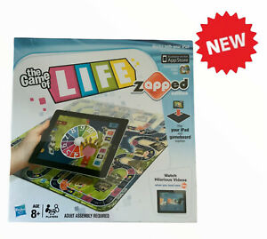 New The Game of Life Board Game Zapped Edition Hasbro Brand new Sealed (12