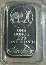 SILVER 1 OZ BAR .999 FINE SILVER TOWNE MINT SEALED FREE SHIPPING!