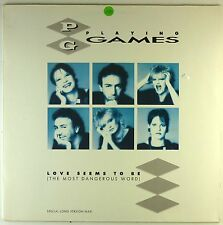 """12"""" Maxi - Playing Games - Love Seems To Be (The Most Dangerous Word) - A3221"""