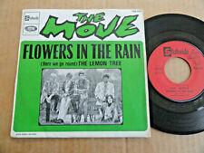 """DISQUE 45T DE THE MOVE  """" FLOWERS IN THE RAIN """""""