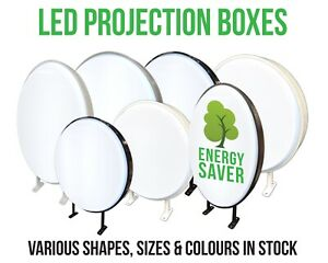 Shop Sign Light Box Projecting LED Illuminated WaterProof Outdoor Shop Sign